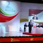 El Alcalde Guillermo del Real Castañeda rindió su segundo Informe de Gobierno,