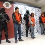 Los presentados por la fiscalía son: -Carlos Alberto González Pedroza, Brenda Idalia Calvillo Segovia y Carolina Marlene Medina Calvillo