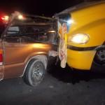 El fatal percance, que enluta a tres familias del poblado Petronilas, ocurrió alrededor de las nueve y media de la noche y requirió la participación de elementos de Bomberos, de la Cruz Roja y de la Dirección de Seguridad Pública Municipal del municipio de Matamoros