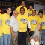 El Rector, Mario Alberto Ochoa Rivera junto con el director de asuntos académicos;  Realizo la entrega de  material deportivo a las distintas Escuelas y Facultades de la Unidad Saltillo