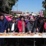 El alcalde partió la tradicional rosca de Reyes frente a funcionarios municipales, miembros del cabildo e invitados especiales