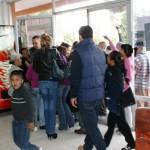 Manifestantes bloquean los accesos a la Presidencia de Matamoros