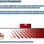 Imagen del resultado de la auditoría 2011