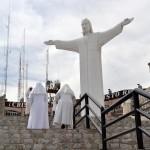 """Este viernes es el Vía Crucis en el """"Cristo de las Noas"""", ubicado en el Cerro de las Noas, en Torreón. (Foto Enrique Proa Villarreal)."""