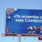 Aparecieron en distintos sectores de Torreón anuncios espectaculares del PAN y ahora del PRC. (Foto Enrique Proa Villarreal).