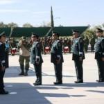 General Cuauhtémoc Antúnez Pérez, tras rendir la protesta de bandera y recibir el reconocimiento de los elementos de las fuerzas armadas, saludó a Generales, Jefes de Servicio y Oficiales de este mando territorial.