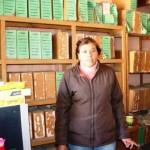 Azucena Reza, responsable del archivo municipal de Matamoros. (Foto: www.elmatamorense.com)