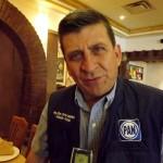 El Presidente del Partido Acción Nacional en Coahuila, Carlos Orta Canales.