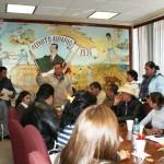 Alcalde de Matamoros hace entrega de nombramientos a los integrantes de la nueva administración 2014-2017. (Foto: www.elmatamorense.com)