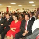 Alcalde de Matamoros Raúl Onofre funge como invitado especial en la ceremonia de de los festejos del centenario de la toma de Torreón, y las batallas de San Pedro y Paredón.( FOTO:www.elmatamorense.com)