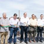 Acompañado de los alcaldes Raúl Onofre Contreras y Miguel Riquelme Solís, el gobernador Rubén Moreira Valdez, inauguró la segunda etapa de la carretera libramiento Matamoros-La Partida, Inauguran la carretera Partida -Matamoros… (Foto: www.elmatamorense.com)