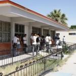 Alumnos y padres del CBTIS 196, inconformes por el retraso de la entrega de sus títulos ( foto: www.elmatamorense.com)