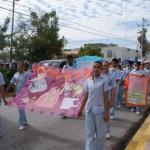 Desfile del día internacional de la tuberculosis. ( Foto: www.elmatamorense.com)