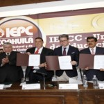 Firma convenio UAdeC convenio con el IEPCC