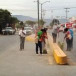 Estas acciones se ejecutaron en el bulevar Cristóbal Díaz, incluyendo la Prolongación Cuauhtémoc con el entronque carretera libre a Saltillo.