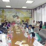 Veintiún alumnos de diferentes escuelas fueron para conformar en la actividad infantil de alcalde y cabildo por un día