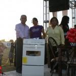 Decenas de niños y madres de familia disfrutaron del festejo en su honor que organizará el Ayuntamiento de Matamoros