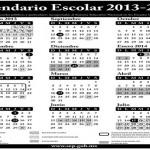 El calendario para el ciclo escolar 2014/2015 se hizo oficial al ser publicado en el Diario Oficial de la Federación.