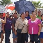 Vecinos de la colonia Valle Hermoso, de este municipio, se quejaron tras el constante brote de aguas negras; sin que la autoridad atienda el llamado. (Foto: El Matamorense Digital)