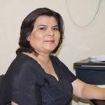 Elizabeth de la Torre, coordinadora de Bibliotecas en la región laguna. (Foto: El Matamorense Digital)
