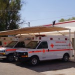 Una mujer ingreso a la Cruz Roja local luego de que fuera atacada por un hombre, quien la apuñalo en dos ocasiones. (Foto: El Matamorense Digital)