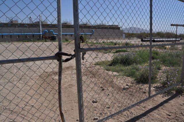 Autoridades no demuestran interés en que funcione la Planta Tratadora de Aguas Residuales.