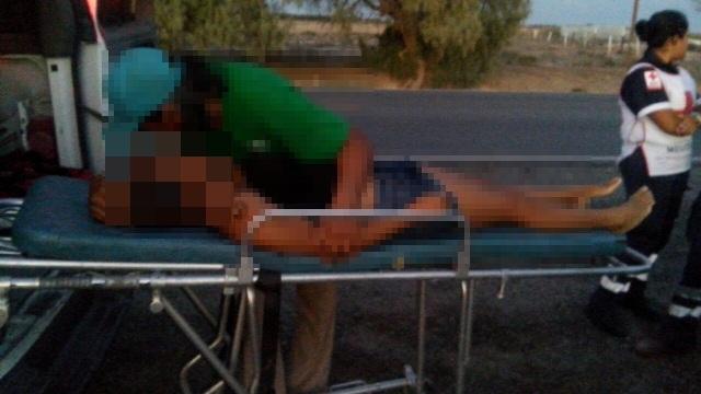 La menor originaria del ejido Mayrán pereció cuando era trasladada por personal de Cruz Roja al hospital.
