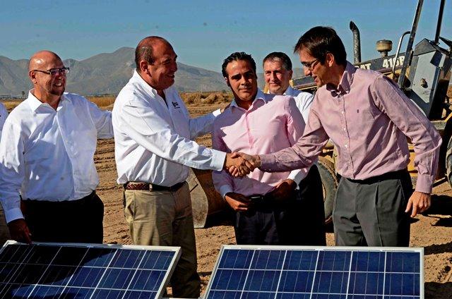 El Parque Solar se encuentra localizado en el ejido Noacán y tendrá una inversión de seis millones de pesos.