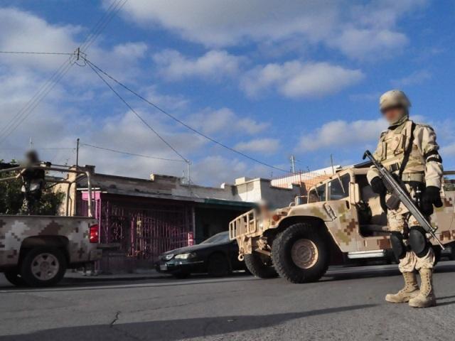 A fin de mantener el clima de seguridad en el municipio, personal de la Sedena en coordinación con corporaciones policíacas realizaron diversos operativos en Matamoros.