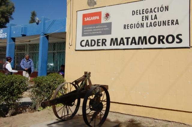 Cader pide a campesinos matamorenses prepararse para la Actualización de Expedientes.