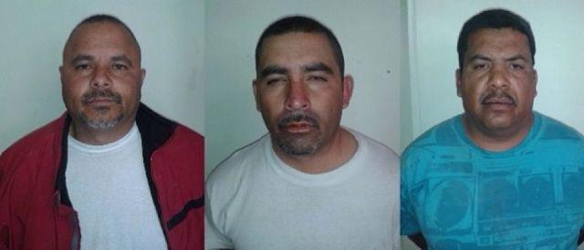 Arturo Martínez Martínez, Fernando Barraza Martínez y Javier Amador Estrada todos con domicilio en San Pedro, fueron detenidos por agentes del GATE con 108 kilogramos marihuana que pretendían llevar a la frontera para su paso a los Estados Unidos.