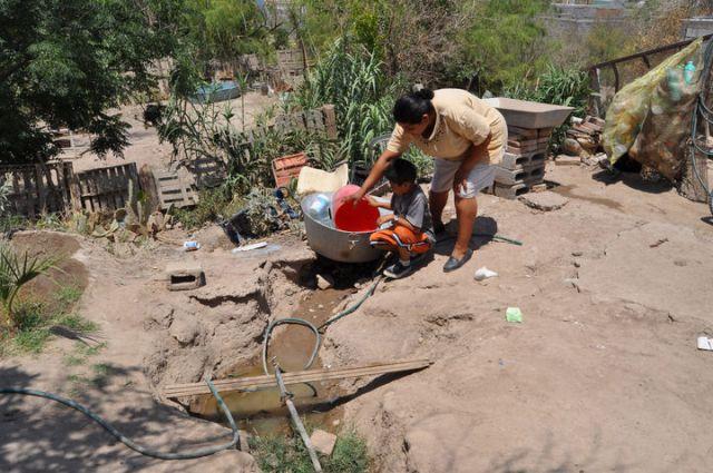 Son más de mil familias que viven en pobreza extrema, en la zona urbana de Matamoros.