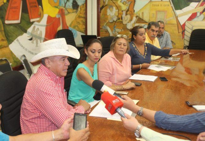 Rueda de Prensa Cancelacion parquimetros