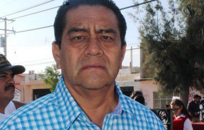 El Presidente del Comité Municipal del PRI, Servando Zarate Muñoz.