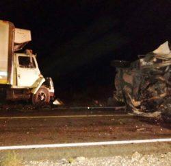 El accidente se suscitó a las 02:00 horas de este 6 de septiembre del presente año, en el kilómetro 114+100 de la autopista Torreón-Saltillo.